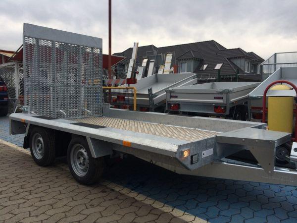 Baumaschinentransporter Gebremst Deyring Anhaenger Img 3305