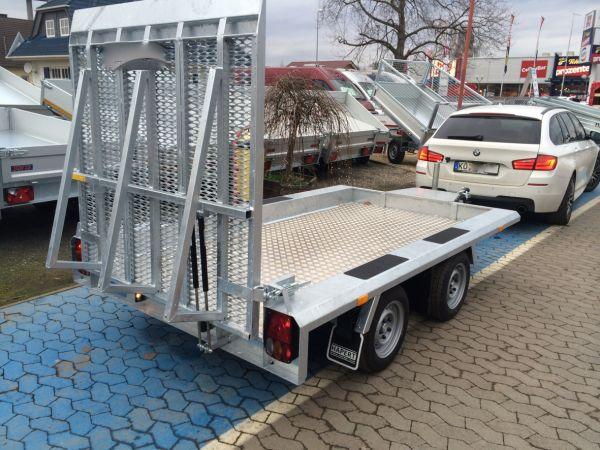 Baumaschinentransporter Gebremst Deyring Anhaenger Img 3302