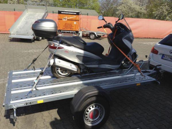 Mototrrad Transporter Klein Gebremst Deyring Anhaenger Img 2135