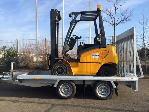 Baumaschinentransporter Gebremst Deyring Anhaenger Img 3384
