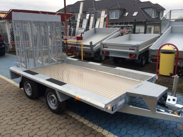 Baumaschinentransporter Gebremst Deyring Anhaenger Img 3306