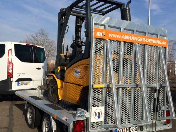 Baumaschinentransporter Gebremst Deyring Anhaenger Img 3390