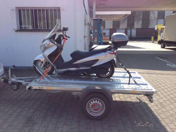 Mototrrad Transporter Klein Gebremst Deyring Anhaenger Img 2134