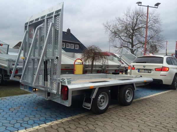 Baumaschinentransporter Gebremst Deyring Anhaenger Img 3304